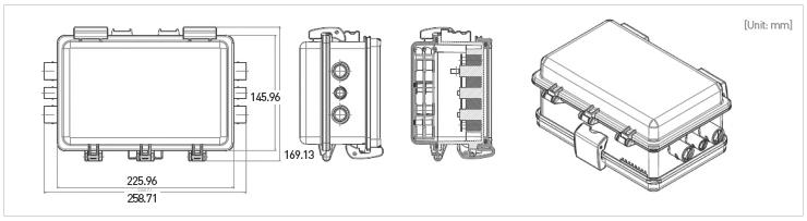 Caja Distribución TAP-A dim