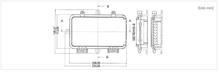 Caja Distribución TAP-C dim
